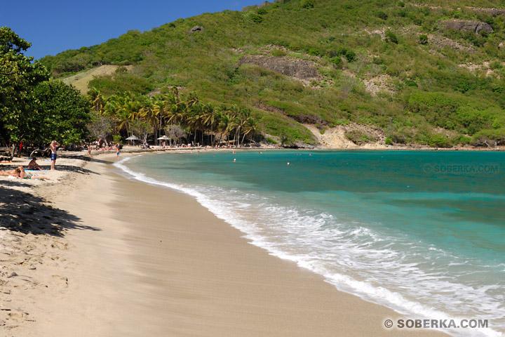 Plage de la baie de Pont Pierre - Les Saintes - Guadeloupe
