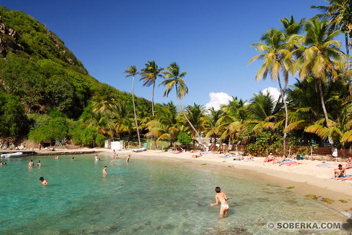 Plage du Pain de sucre - Les Saintes - Guadeloupe